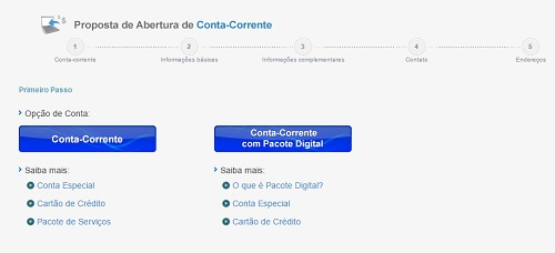 Proposta de Conta Corrente do BB
